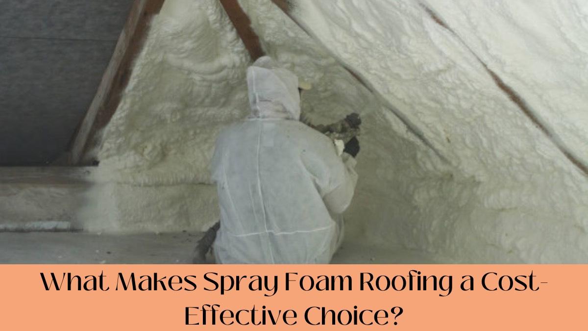 Spray Foam Roofing